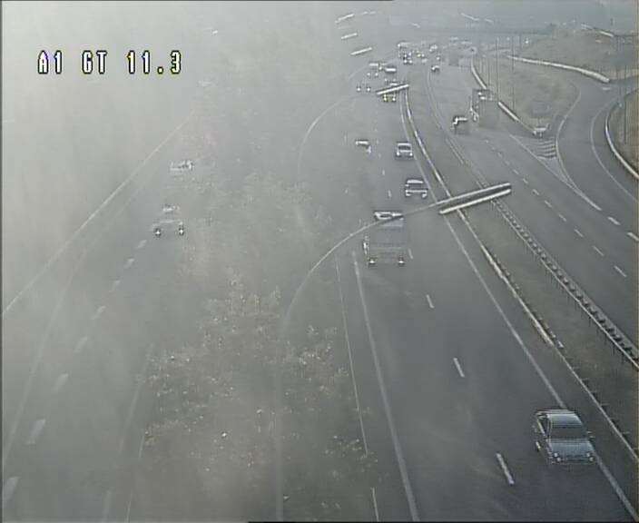 Traffic live webcam Luxembourg Senningerberg - A1 direction Allemagne - BK 11.3