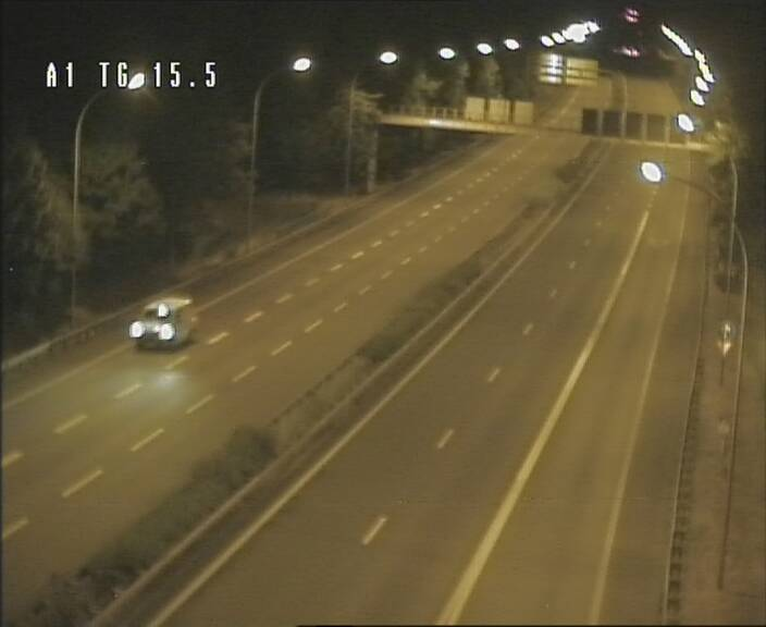 Traffic live webcam Luxembourg Munsbach - A1 direction Luxembourg - BK 15.5