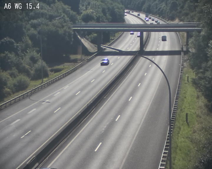 Traffic live webcam Luxembourg Capellen - A6 - BK 15.4 - direction Luxembourg/France/Allemagne