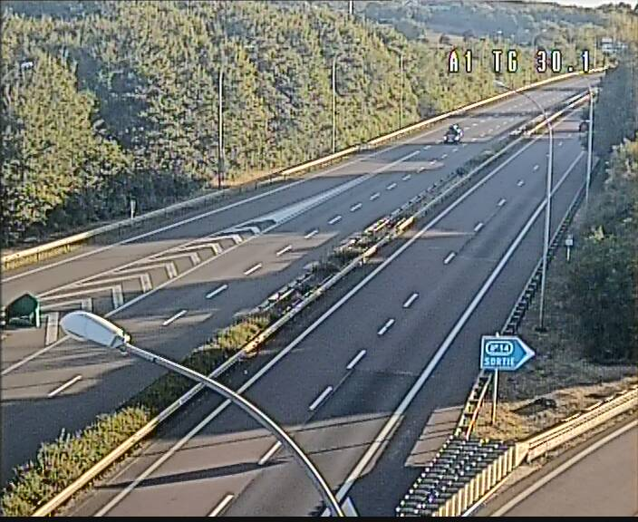 Traffic live webcam Luxembourg Grevenmacher - A1 direction Luxembourg - BK 30.1