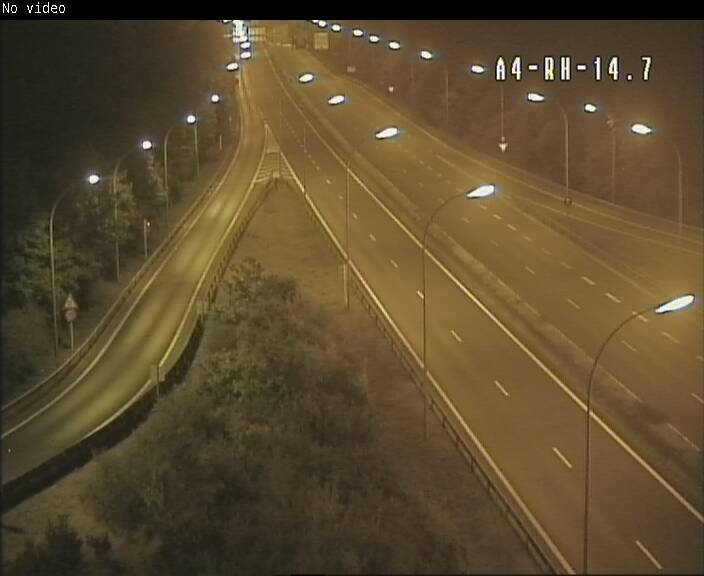 Traffic live webcam Luxembourg Jonction Lankelz - A4 - BK 14.7 - direction Luxembourg