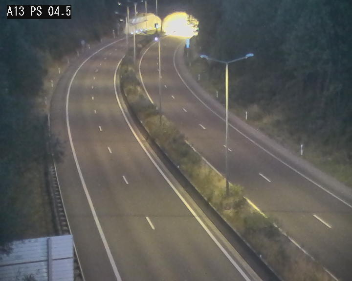 Traffic live webcam Luxembourg Differdange - A13 direction Esch-sur-Alzette - BK 4.5