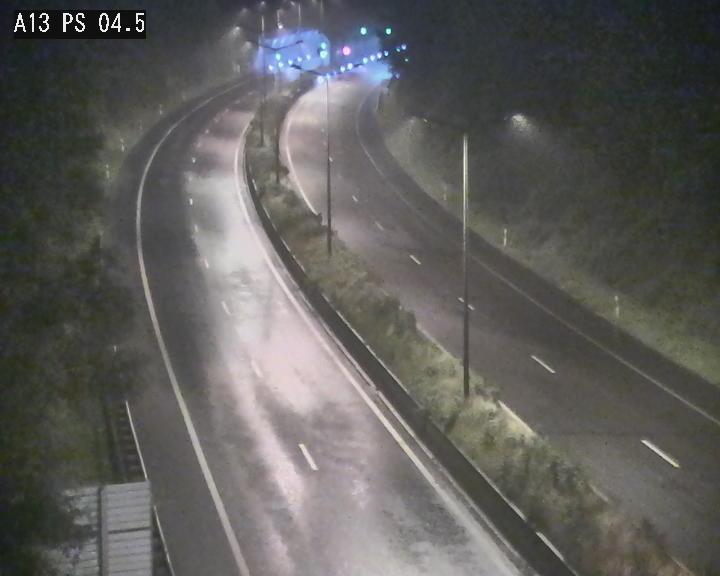 Traffic live webcam Luxembourg Differdange - A13 direction Esch-sur-Alzette - BK 4.5