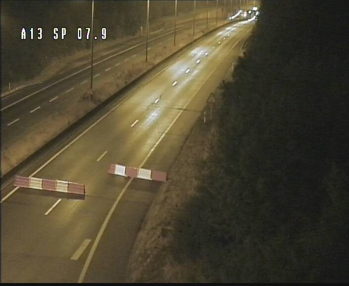 Traffic live webcam Luxembourg Jonction Lankelz - A13 direction Pétange - BK 7.9