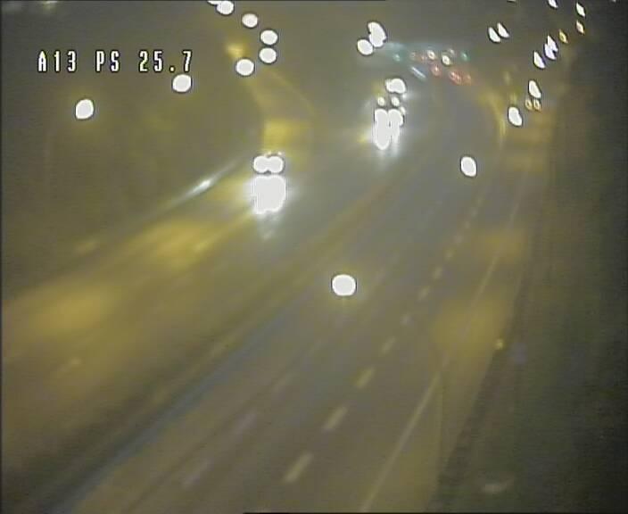 Traffic live webcam Luxembourg Frisange - A13 direction Allemagne - BK 26