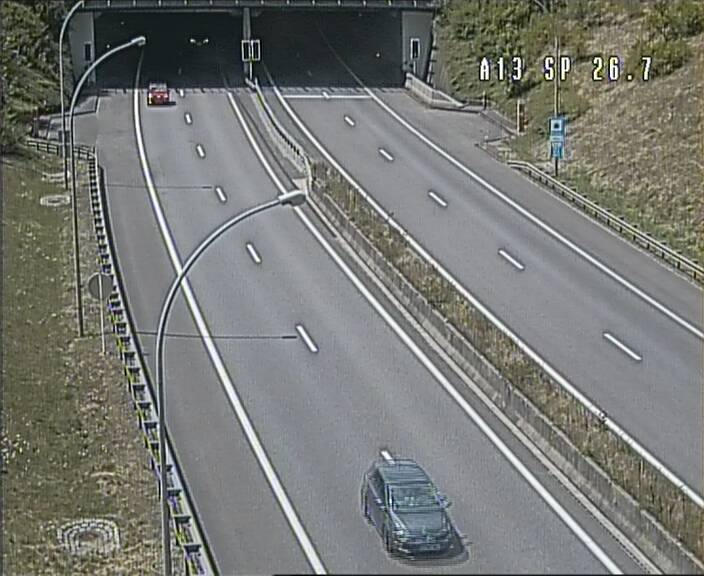 Traffic live webcam Luxembourg Frisange - A13 direction Luxembourg-ville - BK 26.7