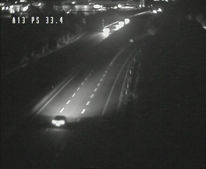 Webcam trafic sur A13 à hauteur de Mondorf-les-Bains en direction d'Altwies