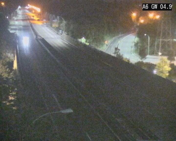 Traffic live webcam Luxembourg Croix de Cessange - A6 - BK 4.9 - direction Belgique