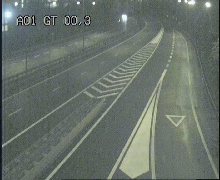 Traffic live webcam Luxembourg Croix de Gasperich - A1 direction Kirchberg - BK 0.3