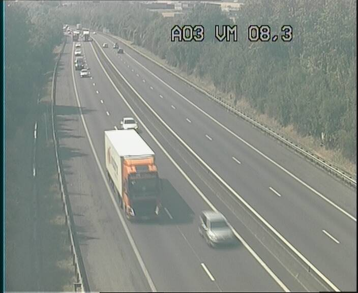 Traffic live webcam Luxembourg Bettembourg - A3 - BK 8.3 - direction France