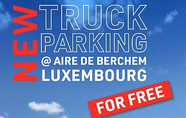 Mise en service du parking intelligent à l'aire de Berchem